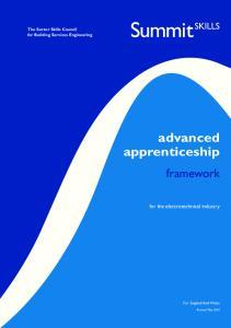 advanced apprenticeship