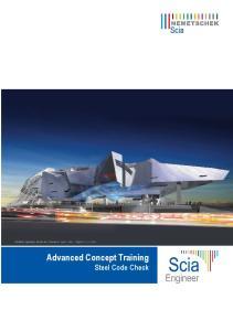 Advanced Concept Training Steel Code Check