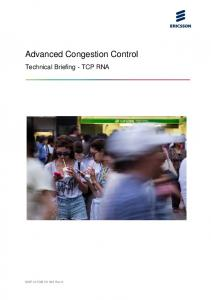 Advanced Congestion Control