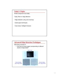 Advanced Edge Detection Techniques
