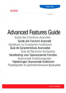 Advanced Features Guide