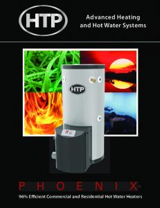 Advanced Heating and Hot Water Systems