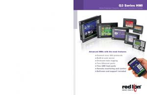 Advanced HMIs with the most features: