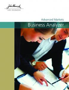 Advanced Markets. Business Analyzer