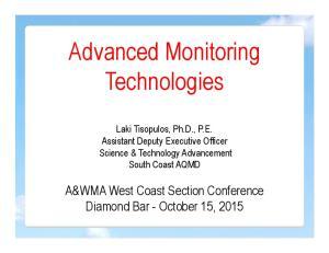 Advanced Monitoring Technologies