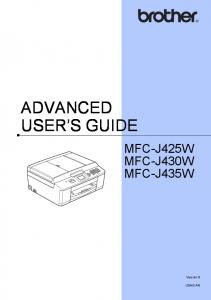 ADVANCED USER S GUIDE