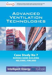 Advanced Ventilation Technologies