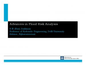 Advances in Flood Risk Analysis