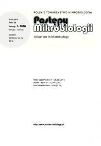 Advances in Microbiology