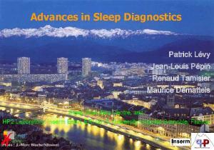 Advances in Sleep Diagnostics