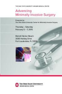 Advancing Minimally Invasive Surgery