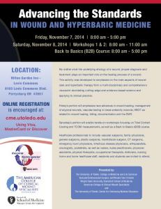 Advancing the Standards IN WOUND AND HYPERBARIC MEDICINE