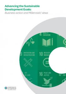Advancing the Sustainable Development Goals: Business action and Millennials views