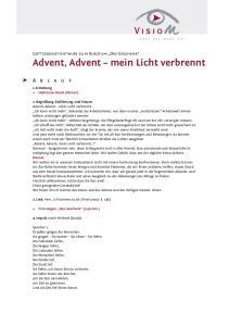 Advent, Advent, mein Licht verbrennt!