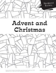 Advent and Christmas. Shepherd Guides. Advent and Christmas 151