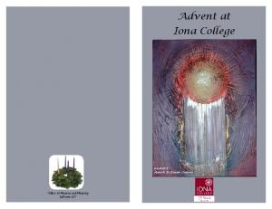 Advent at Iona College