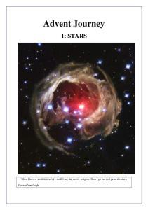 Advent Journey 1: STARS
