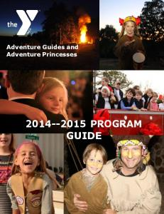 Adventure Guides and Adventure Princesses PROGRAM GUIDE