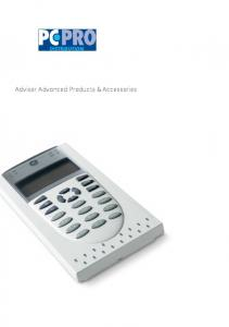 Advisor Advanced Products & Accessories