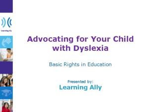 Advocating for Your Child with Dyslexia