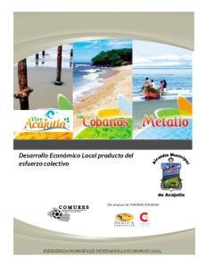 AECID EXPERIENCIAS MUNICIPALES DE DESARROLLO ECONOMICO LOCAL