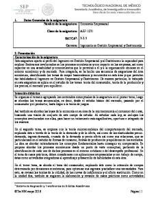 AEF SATCA 1 : Carrera: