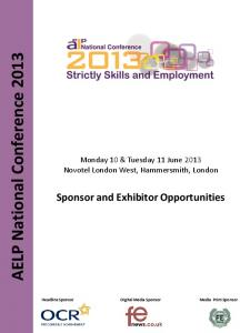 AELP National Conference 2013