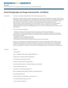 Aerial Photography and Image Interpretation. 3rd Edition