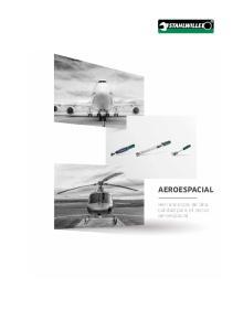 AEROESPACIAL. Herramientas de alta calidad para el sector aeroespacial