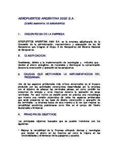 AEROPUERTOS ARGENTINA 2000 S.A