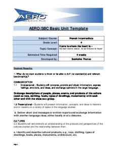 AERO:SBC Basic Unit Template