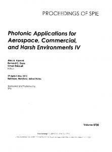 Aerospace, Commercial