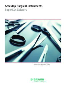 Aesculap Surgical Instruments SuperCut Scissors