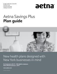 Aetna Savings Plus Plan guide