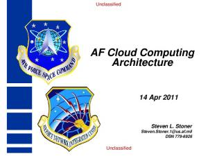 AF Cloud Computing Architecture