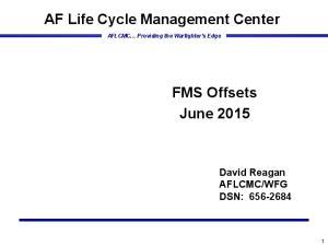 AF Life Cycle Management Center
