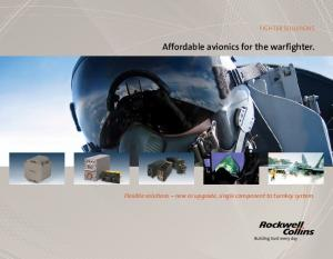 Affordable avionics for the warfighter