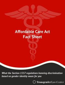 Affordable Care Act Fact Sheet