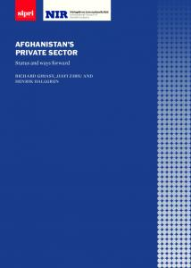 AFGHANISTAN S PRIVATE SECTOR