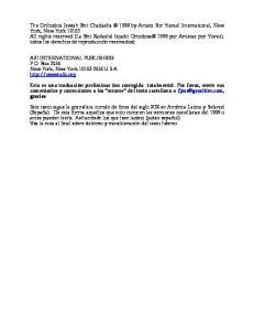 AFI INTERNATIONAL PUBLISHERS P.O. Box 2056 New York, New York U.S.A
