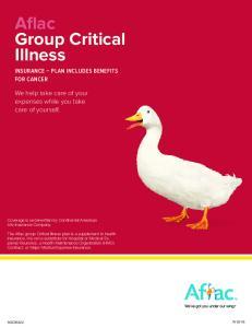 Aflac Group Critical Illness