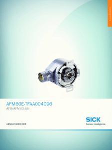 AFM60 SSI ABSOLUT-ENCODER