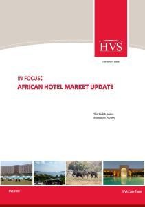 AFRICAN HOTEL MARKET UPDATE