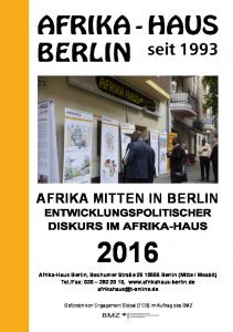 AFRIKA MITTEN IN BERLIN
