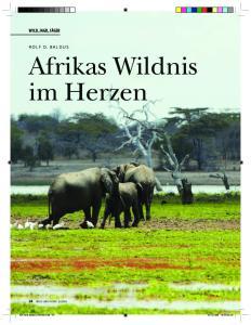 Afrikas Wildnis im Herzen