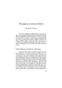 Afro uruguayos: sus caminos en la historia
