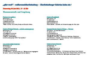 after work walkaroundcharlottenburg Charlottenburger Galerien laden ein!
