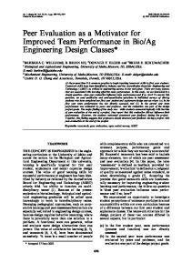 Ag Engineering Design Classes*