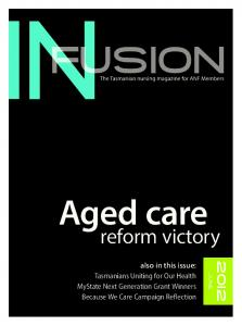 Aged care. reform victory