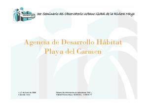 Agencia de Desarrollo Hábitat Playa del Carmen